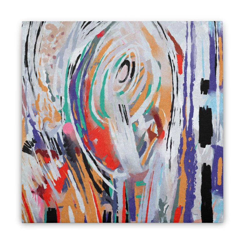 Abstract painting Home Stretched Canvas by sleepwalker's Artist Shop