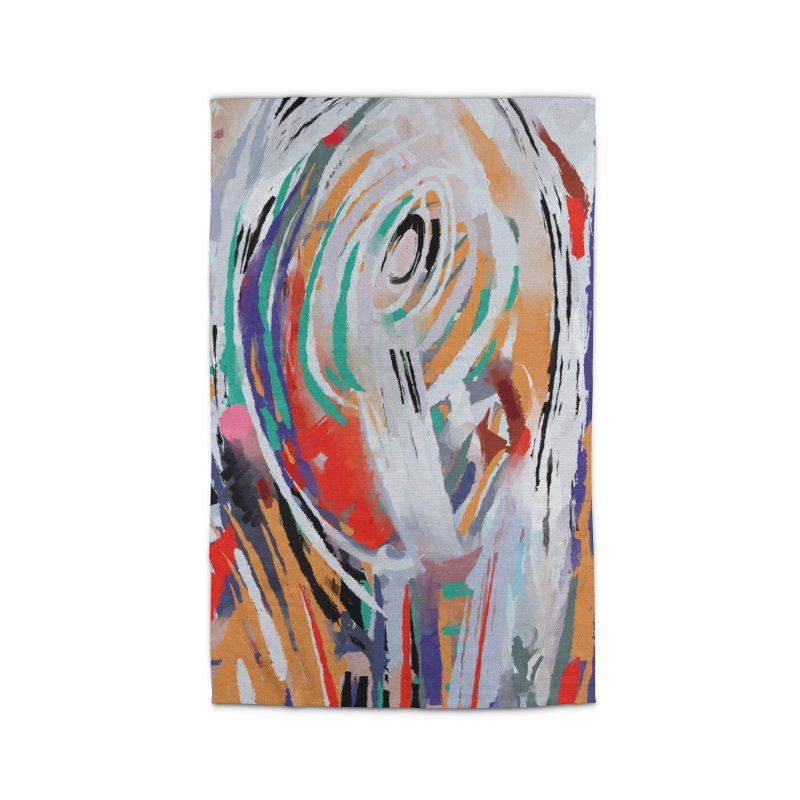 Abstract painting Home Rug by sleepwalker's Artist Shop