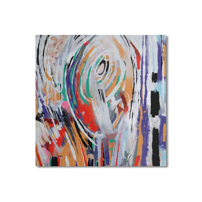 Abstract painting Home Mounted Aluminum Print by sleepwalker's Artist Shop