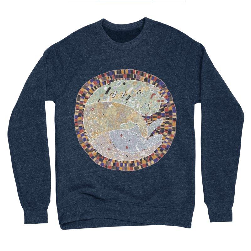 Cat's dream Men's Sponge Fleece Sweatshirt by sleepwalker's Artist Shop