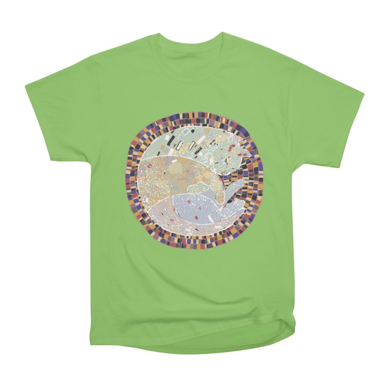Cat's dream Men's Heavyweight T-Shirt by sleepwalker's Artist Shop