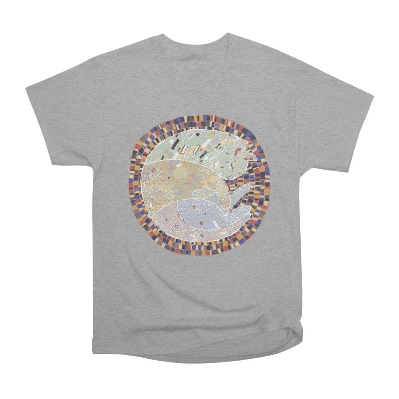 Cat's dream Women's Heavyweight Unisex T-Shirt by sleepwalker's Artist Shop