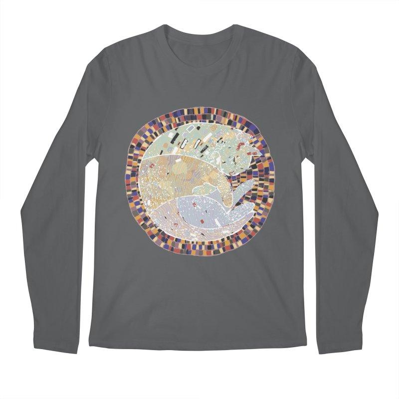 Cat's dream Men's Longsleeve T-Shirt by sleepwalker's Artist Shop