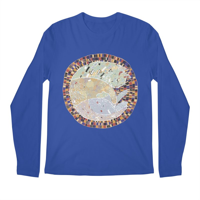 Cat's dream Men's Regular Longsleeve T-Shirt by sleepwalker's Artist Shop
