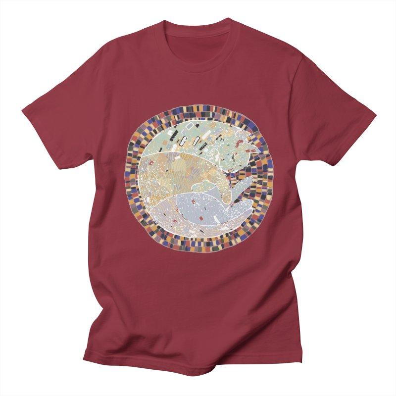 Cat's dream Men's T-Shirt by sleepwalker's Artist Shop