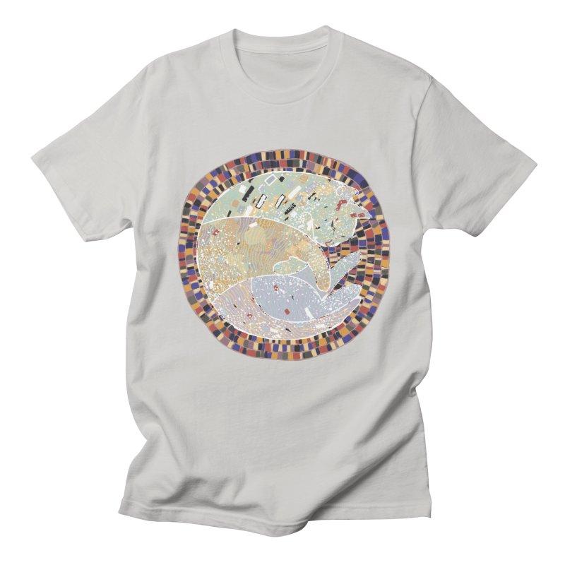 Cat's dream Men's Regular T-Shirt by sleepwalker's Artist Shop