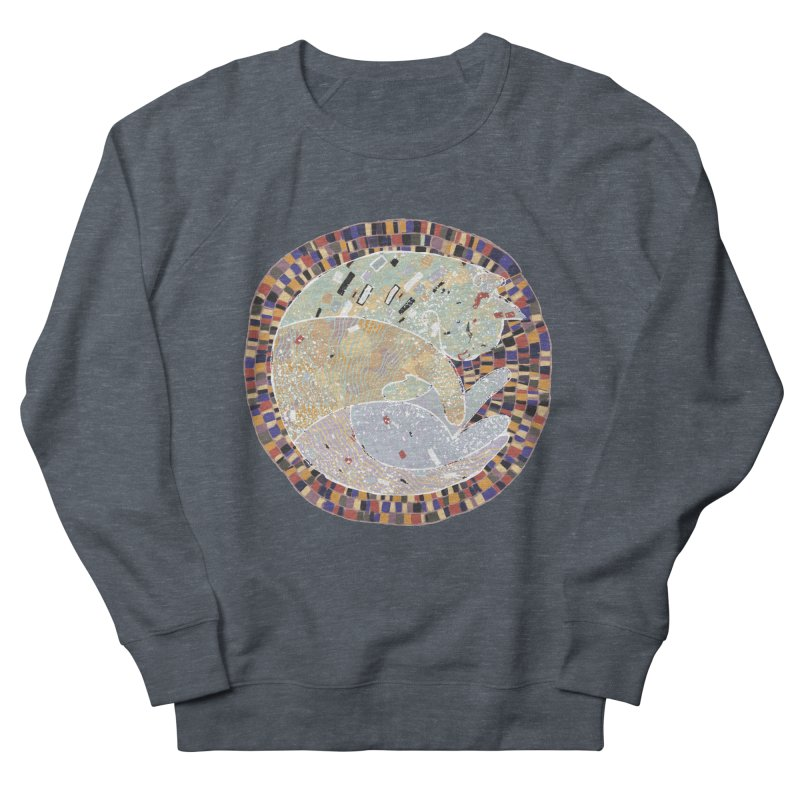 Cat's dream Women's French Terry Sweatshirt by sleepwalker's Artist Shop