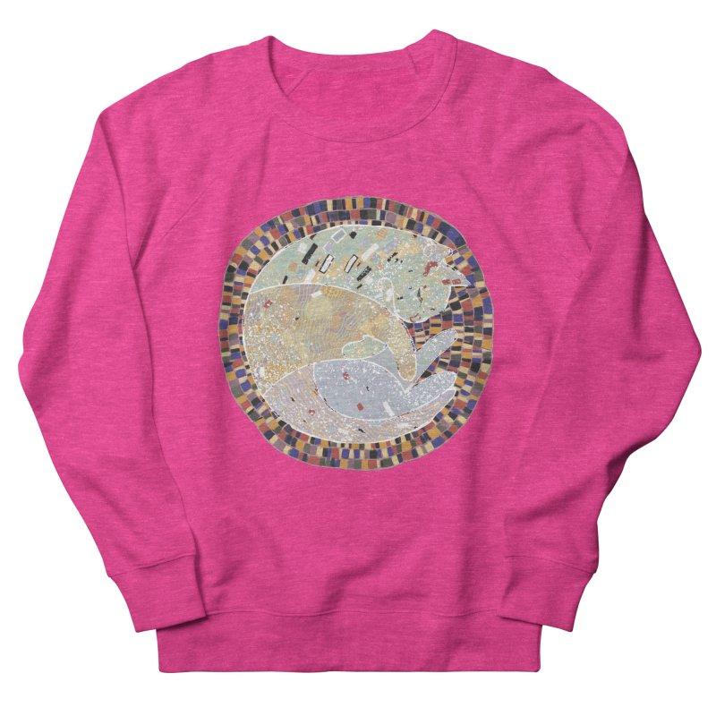 Cat's dream Women's French Terry Sweatshirt by sleepwalker's Artist Shop