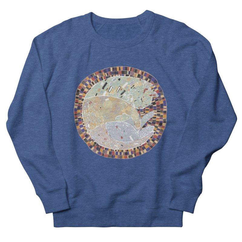 Cat's dream Men's French Terry Sweatshirt by sleepwalker's Artist Shop
