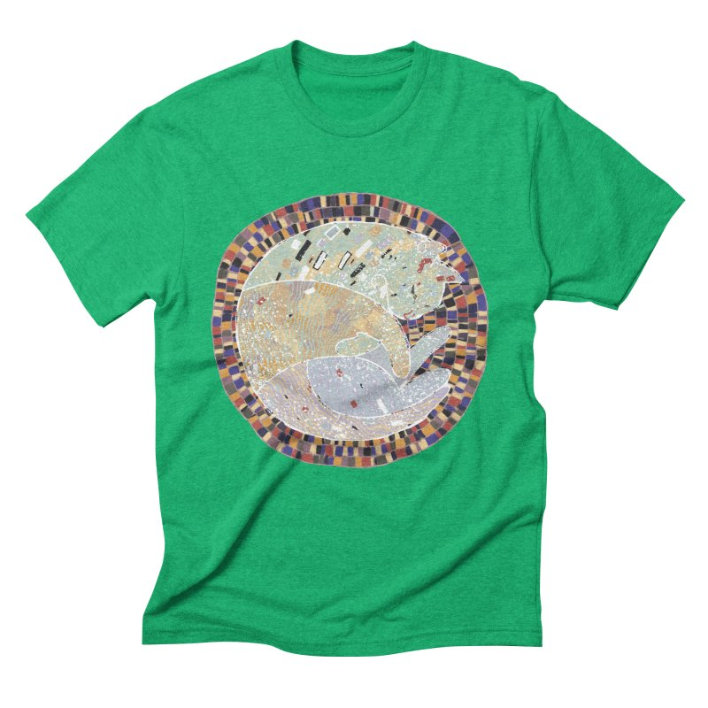 Cat's dream Men's Triblend T-shirt by sleepwalker's Artist Shop