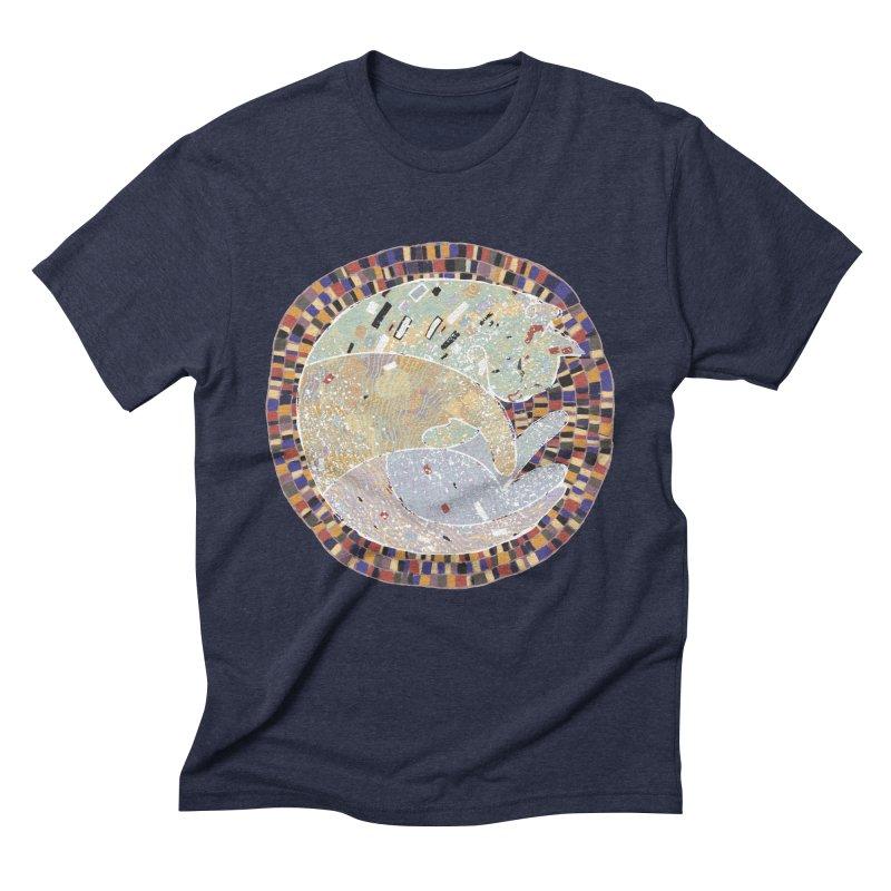 Cat's dream Men's Triblend T-Shirt by sleepwalker's Artist Shop