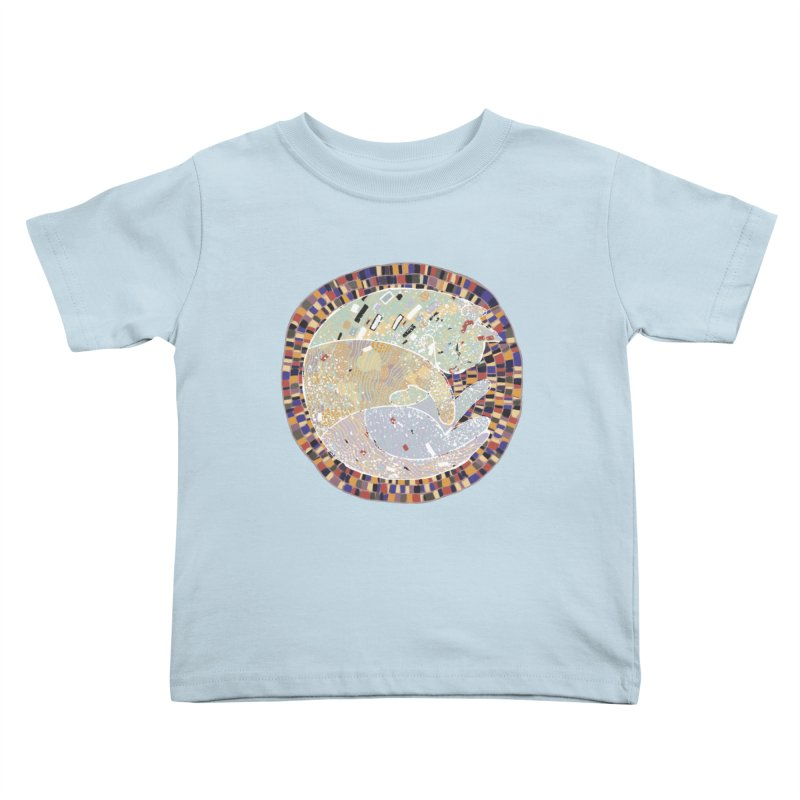 Cat's dream Kids Toddler T-Shirt by sleepwalker's Artist Shop
