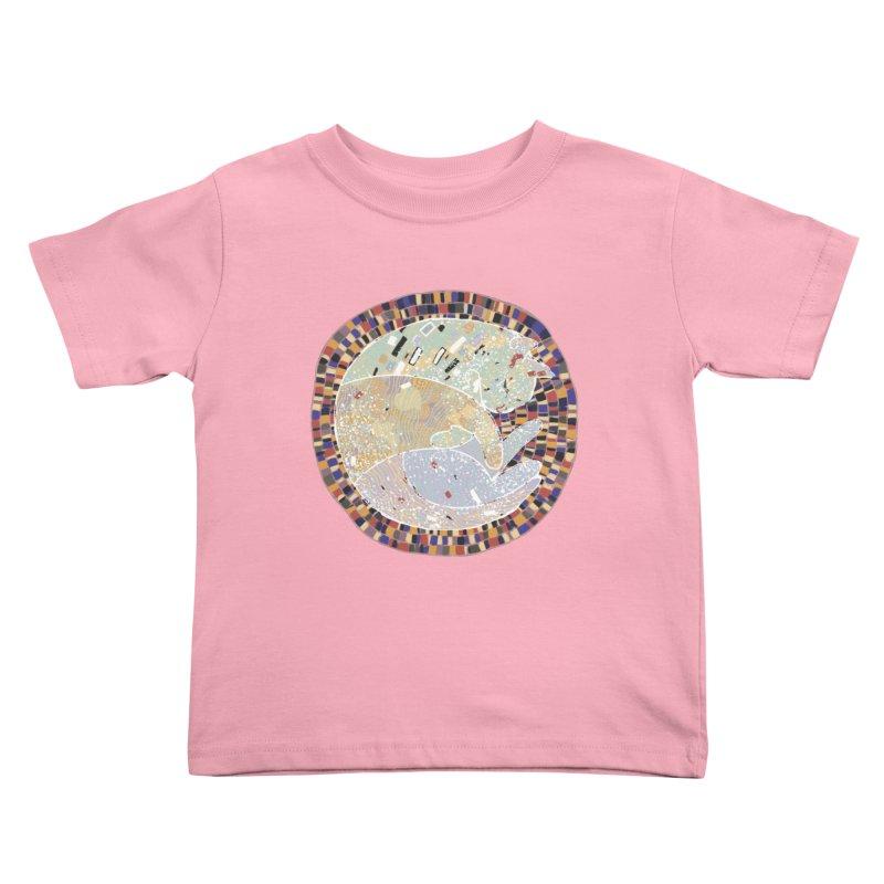 Cat's dream Kids Toddler T-Shirt by sleepwalker's Artist Shop