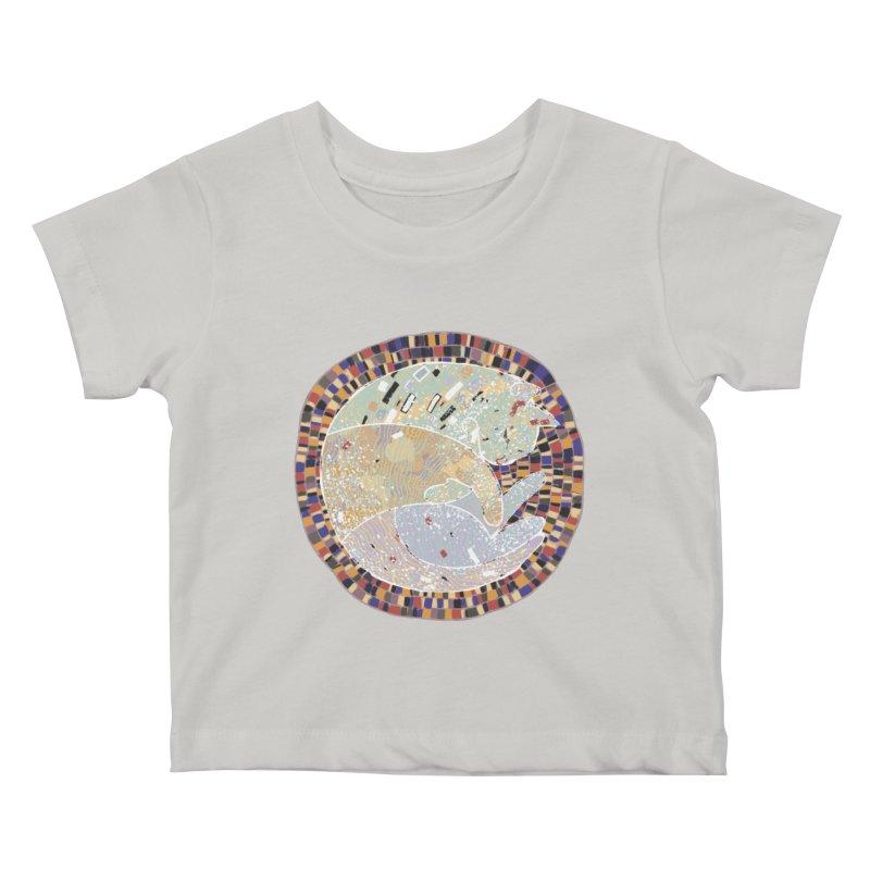 Cat's dream Kids Baby T-Shirt by sleepwalker's Artist Shop