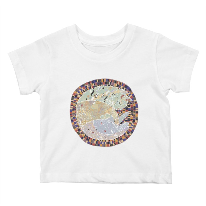 Cat's dream Kids Baby T-Shirt by sleepwalker's Artist Shop