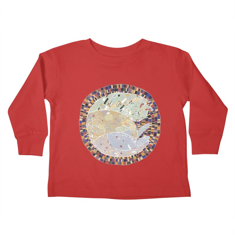 Cat's dream Kids Toddler Longsleeve T-Shirt by sleepwalker's Artist Shop