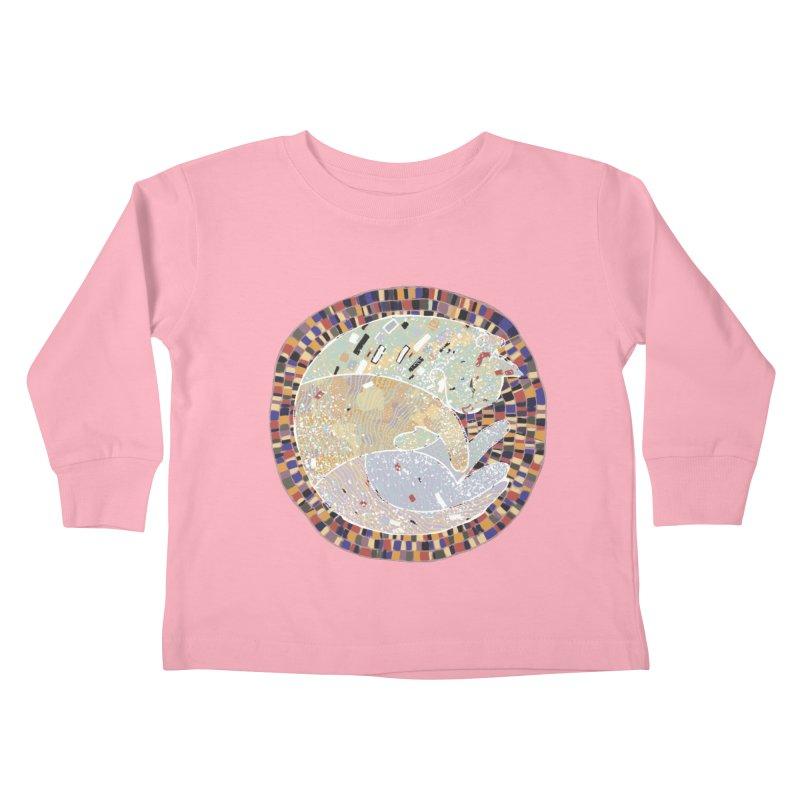 Cat's dream Kids Toddler Longsleeve T-Shirt by sleepwalker's Artist Shop