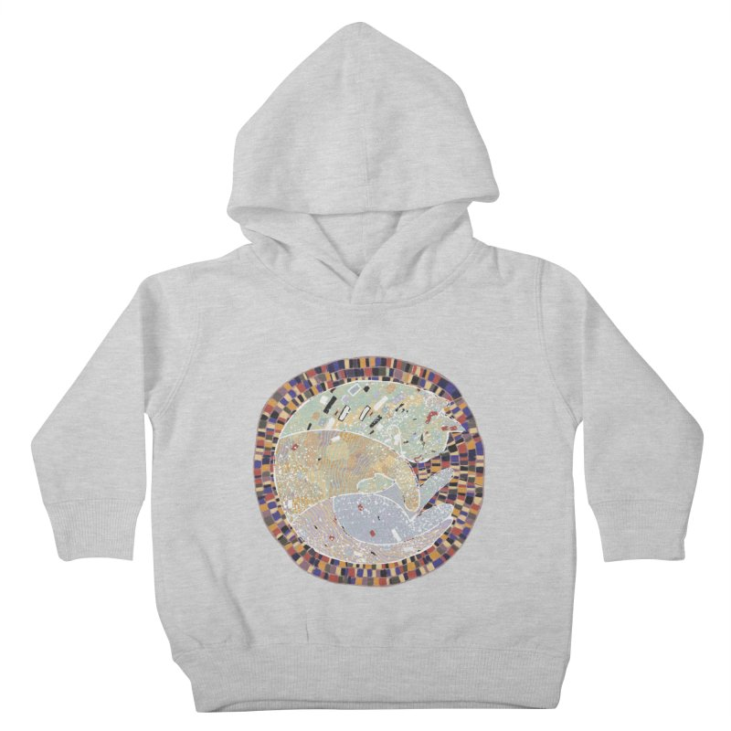 Cat's dream Kids Toddler Pullover Hoody by sleepwalker's Artist Shop