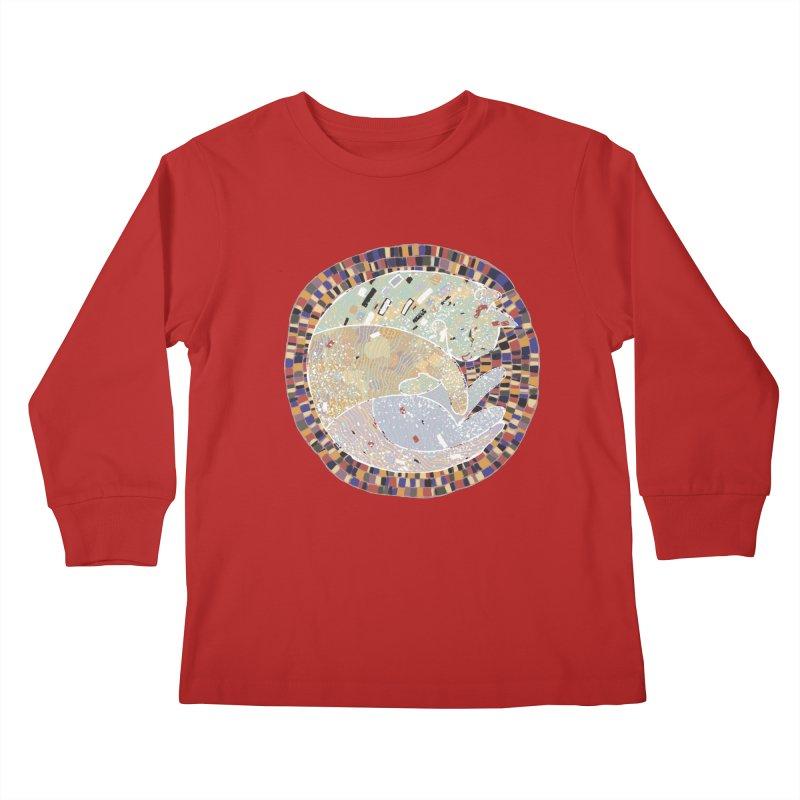 Cat's dream Kids Longsleeve T-Shirt by sleepwalker's Artist Shop