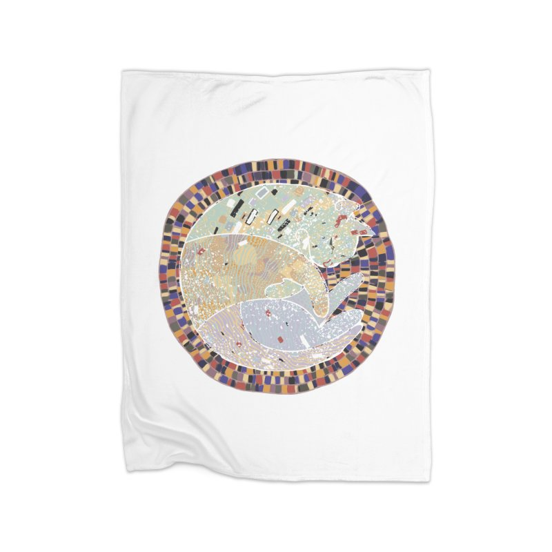 Cat's dream Home Blanket by sleepwalker's Artist Shop