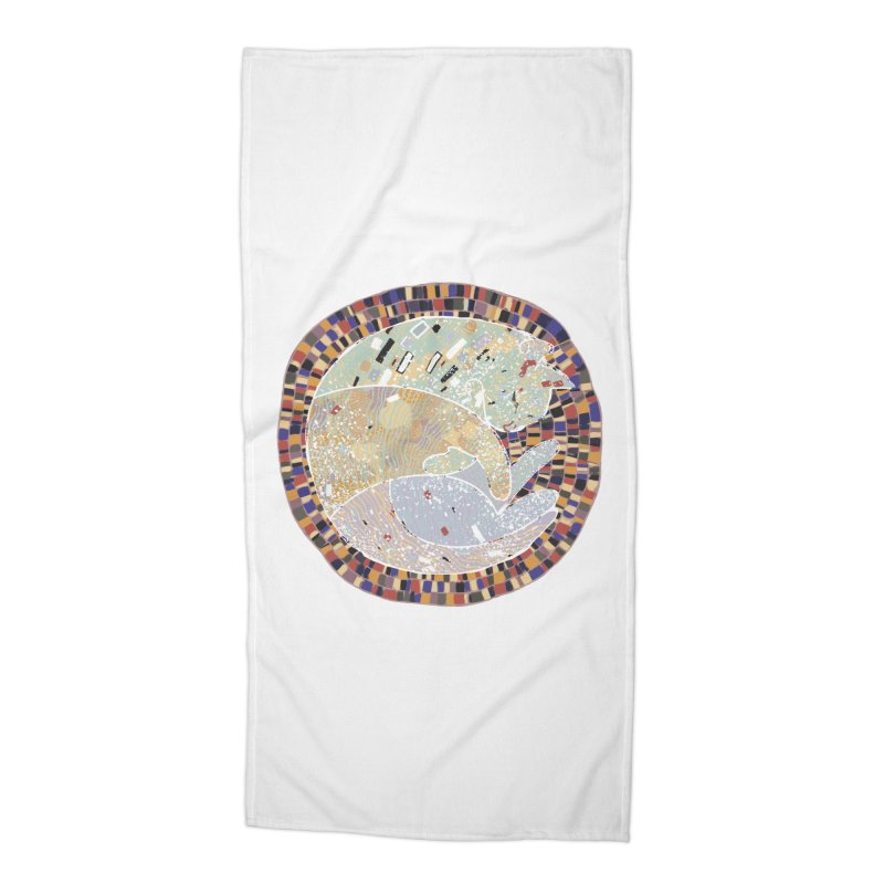 Cat's dream Accessories Beach Towel by sleepwalker's Artist Shop