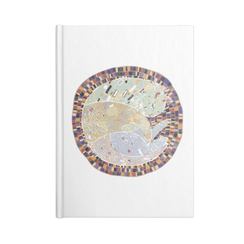Cat's dream Accessories Notebook by sleepwalker's Artist Shop
