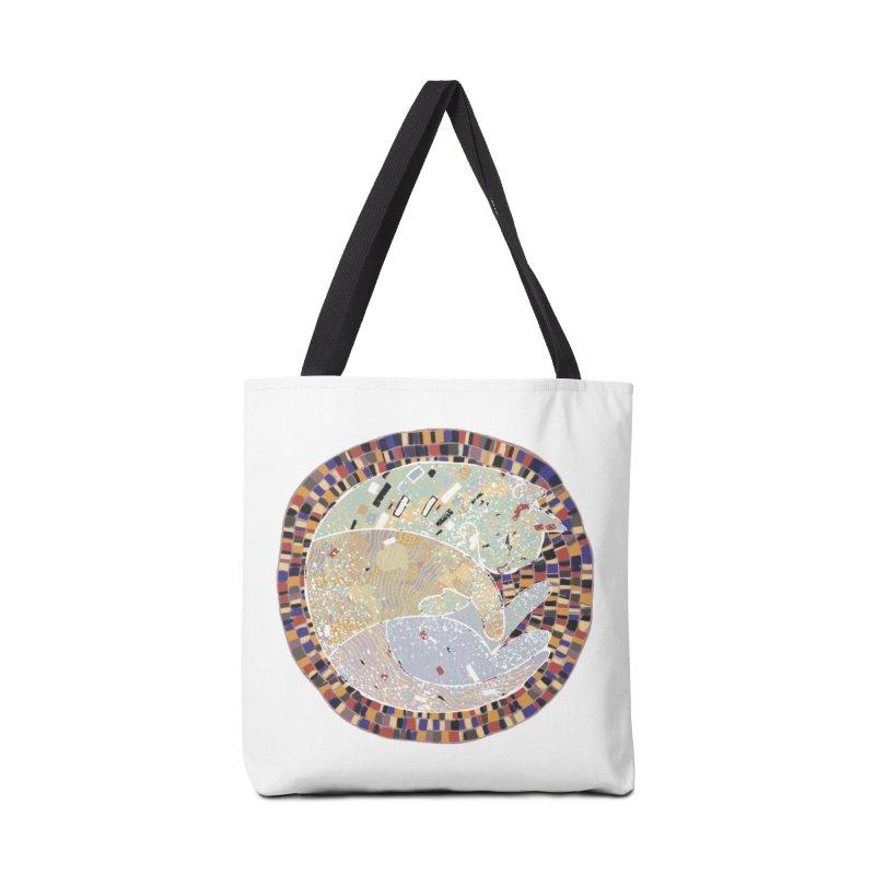 Cat's dream Accessories Tote Bag Bag by sleepwalker's Artist Shop