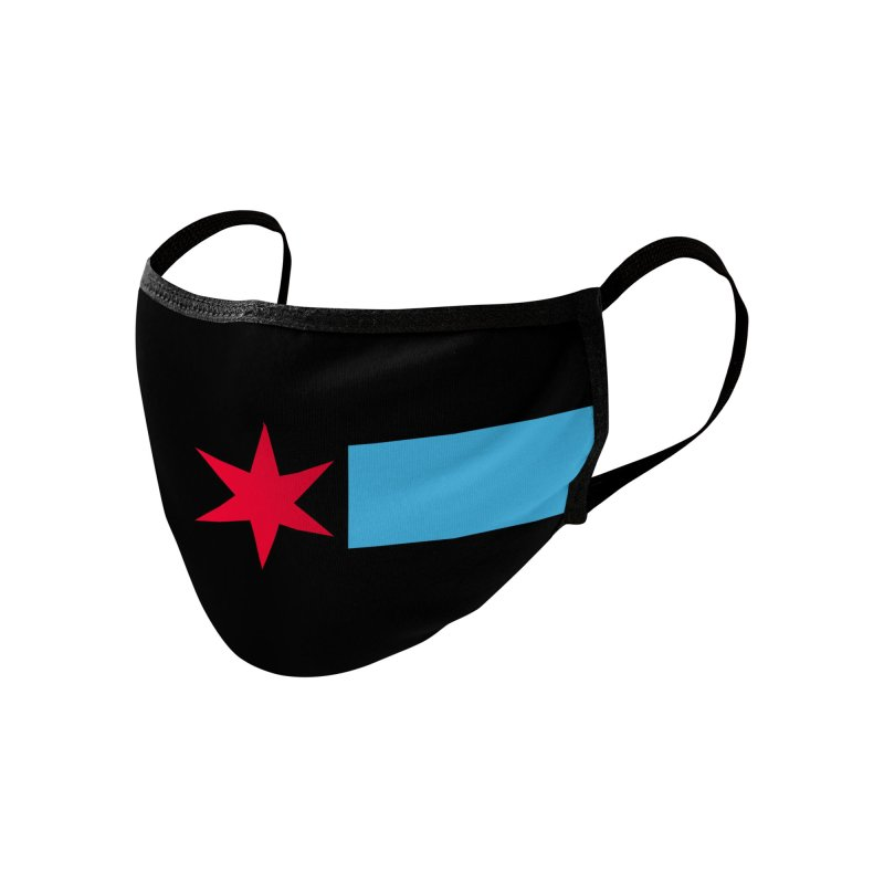 Chicago Logo - New City Identity 2020 Accessories Face Mask by The B_Line Project : Mural Masks