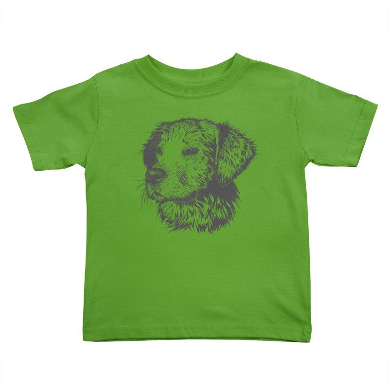 Dog Kids Toddler T-Shirt by muratduman's Artist Shop