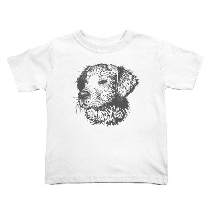 Dog Kids Toddler T-Shirt by muratduman's Artist Shop