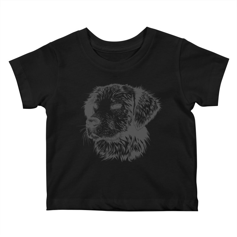 Dog Kids Baby T-Shirt by muratduman's Artist Shop