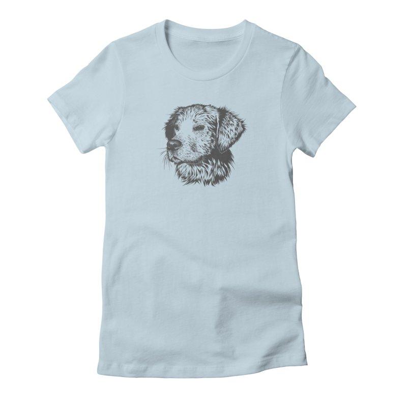 Dog Women's T-Shirt by muratduman's Artist Shop