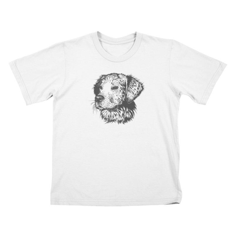 Dog Kids T-Shirt by muratduman's Artist Shop