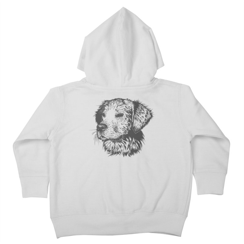 Dog Kids Toddler Zip-Up Hoody by muratduman's Artist Shop