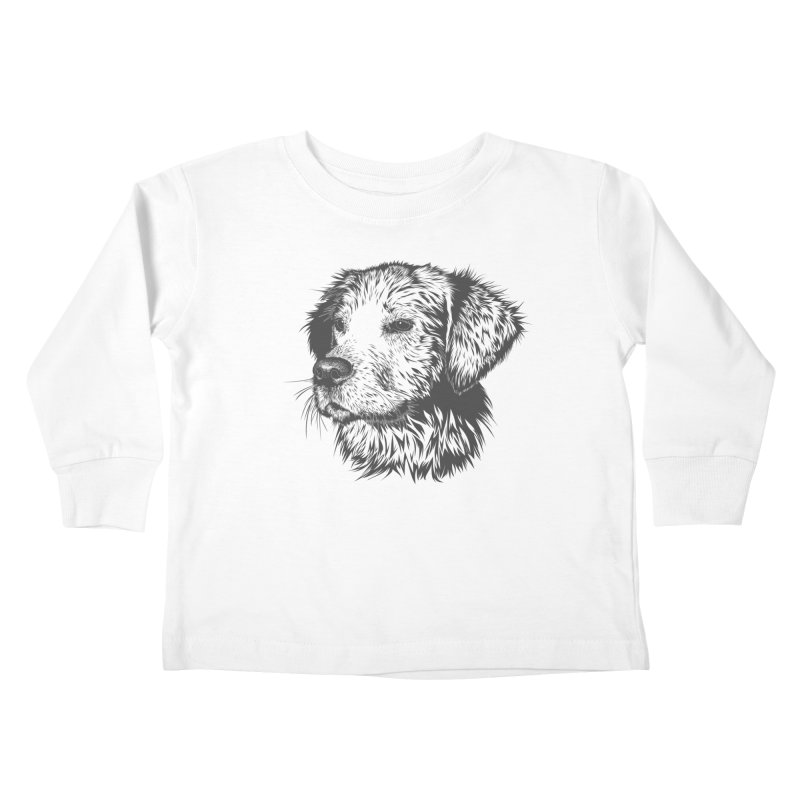 Dog Kids Toddler Longsleeve T-Shirt by muratduman's Artist Shop