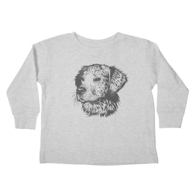 Dog Kids Toddler Longsleeve T-Shirt by muratduman's Artist Shop