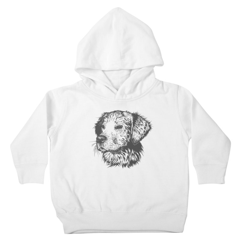Dog Kids Toddler Pullover Hoody by muratduman's Artist Shop