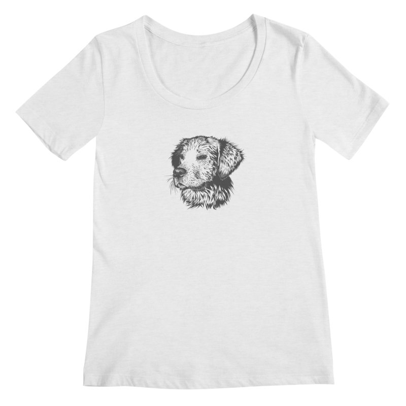 Dog Women's Regular Scoop Neck by muratduman's Artist Shop