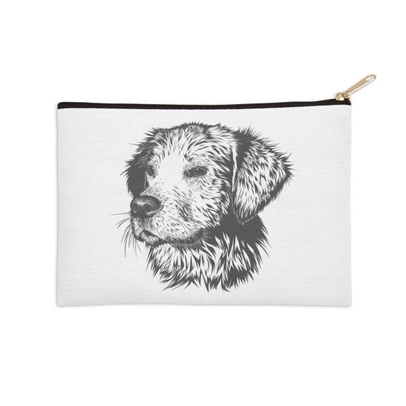 Dog Accessories Zip Pouch by muratduman's Artist Shop