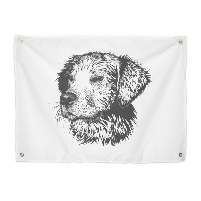 Dog Home Tapestry by muratduman's Artist Shop