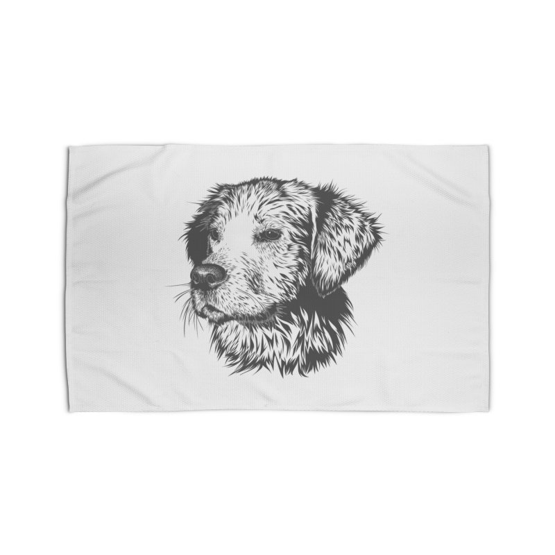 Dog Home Rug by muratduman's Artist Shop
