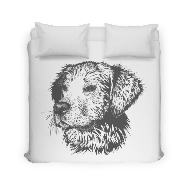 Dog Home Duvet by muratduman's Artist Shop