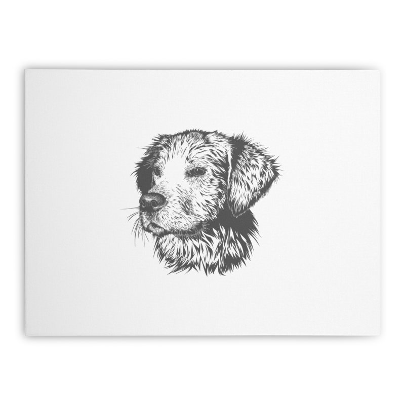 Dog Home Stretched Canvas by muratduman's Artist Shop