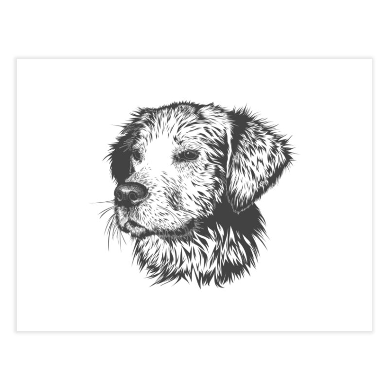 Dog Home Fine Art Print by muratduman's Artist Shop