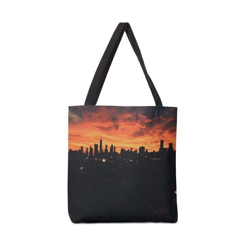 Sky Explosion  Accessories Bag by murdamex's Artist Shop