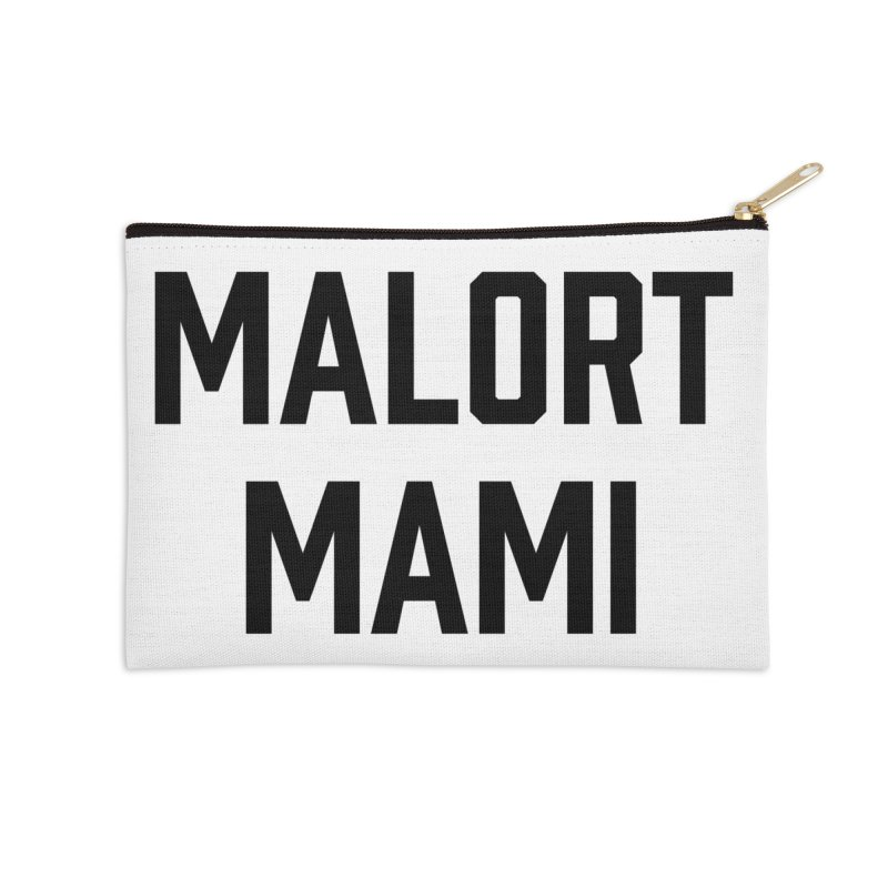 Malort Mami (black font) Accessories Zip Pouch by murdamex's Artist Shop