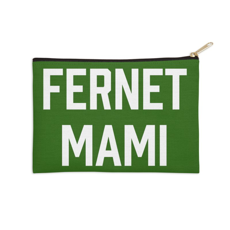 Fernet Mami Accessories Zip Pouch by murdamex's Artist Shop