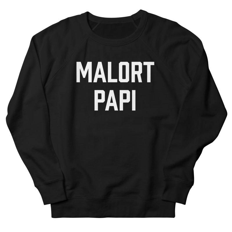 Malort Papi (white font) Women's Sweatshirt by murdamex's Artist Shop