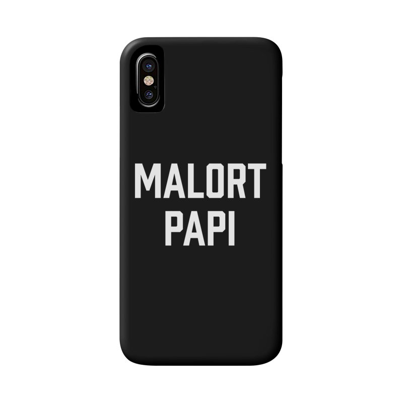 Malort Papi (white font) Accessories Phone Case by murdamex's Artist Shop