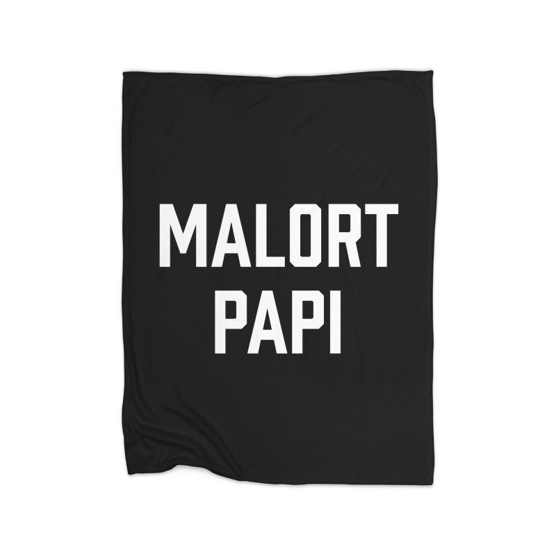 Malort Papi (white font) Home Blanket by murdamex's Artist Shop